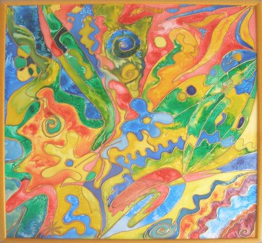 Faith - Silk Painting